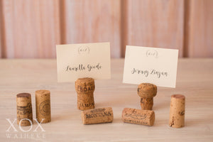 Corks for Place Name Cards