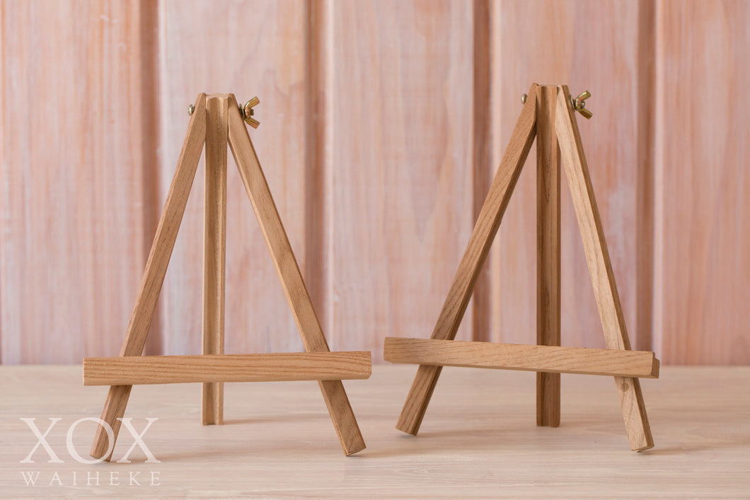 Small Wooden Easels