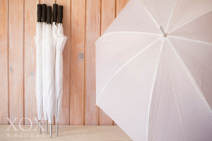 Umbrellas White Golf