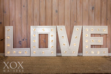 Large Love Light Letters