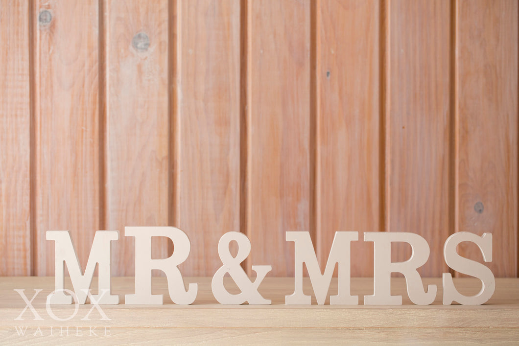MR & MRS Wooden Blocks - Small