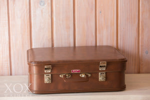 Large Brown Suitcase