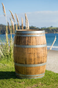 Full size wine barrels