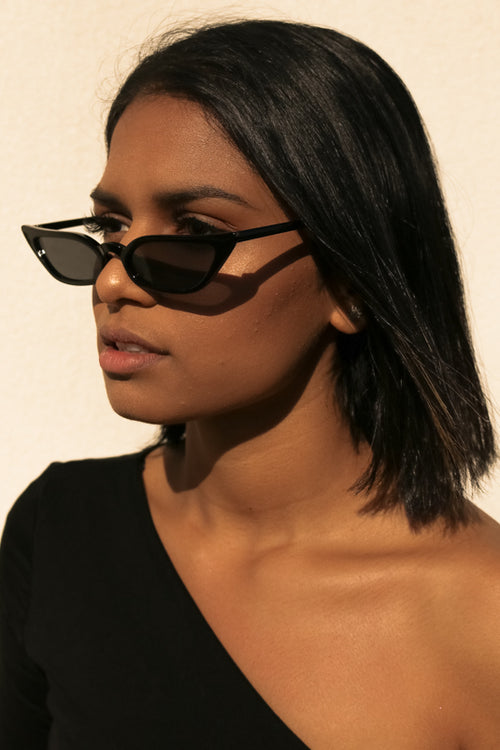 DINAH SUNGLASSES - BLACK