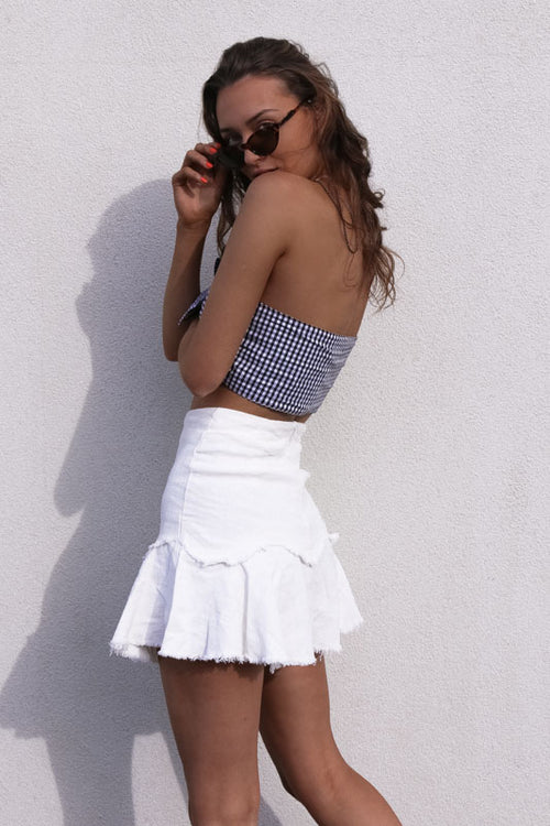 MARY SKIRT - WHITE