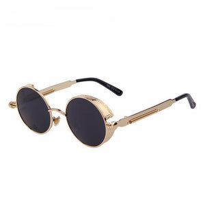 Steampunk Round Sunglasses