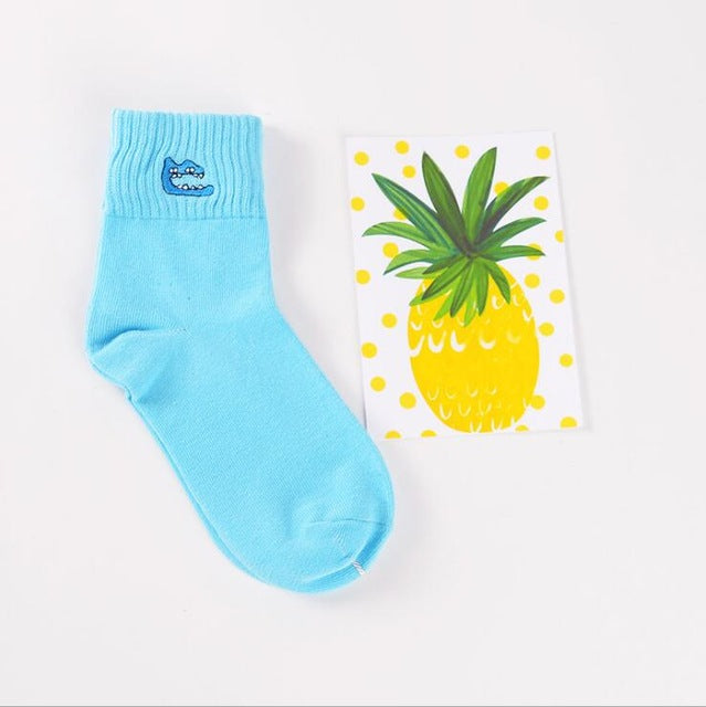 Cotton Socks with Animal Graphics