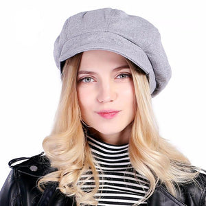 Wool Dome Shaped Hat