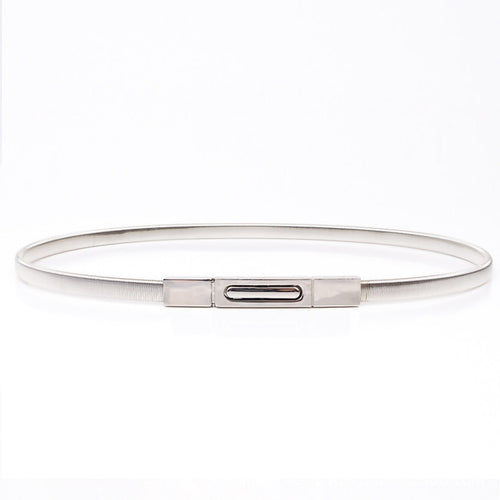 Thin Metal Chain Belt