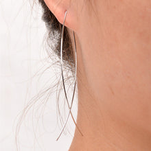 Minimalist Copper Fish Earrings