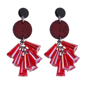Crystal Beads Earrings