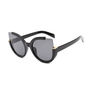 Square Cornered Cat Eye Sunglasses