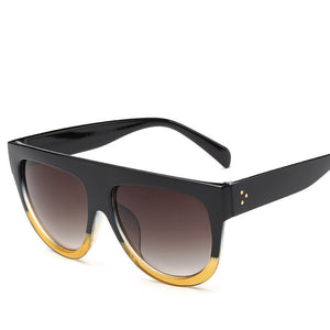 Flat Top Sun Glasses