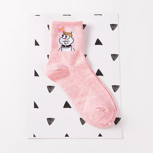 Cute Socks with Cartoon Characters
