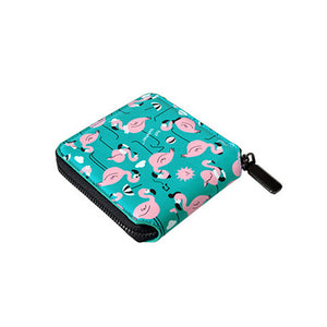 Cute Wallet with Colorful Animal Prints