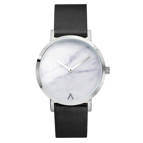 Marble Dial Quartz Watch