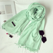 Solid Color Winter Scarf