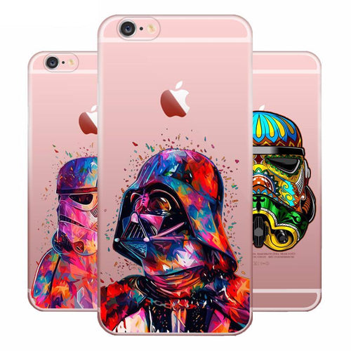 Star Wars Case For iPhone (X 8 7 6)
