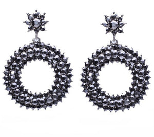 Classical Crystal Earrings