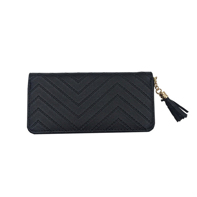 Clutch Tassel Wallet