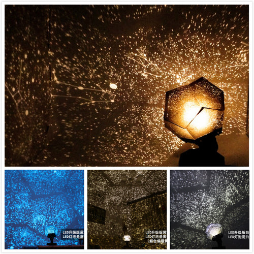 Galaxy Night Light Projector