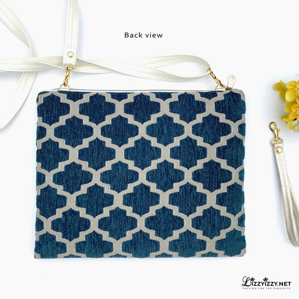 Trellis Walk Flower Clutch