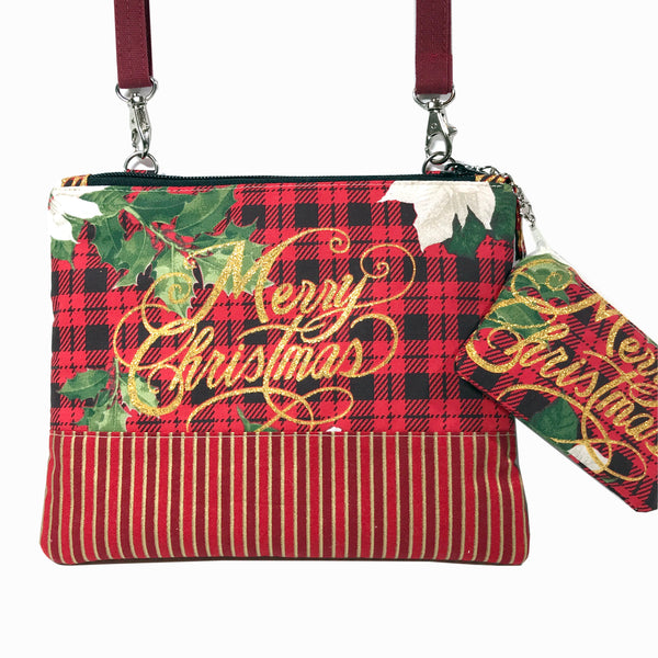 Merry Christmas All-In-One Cross-Body Bag