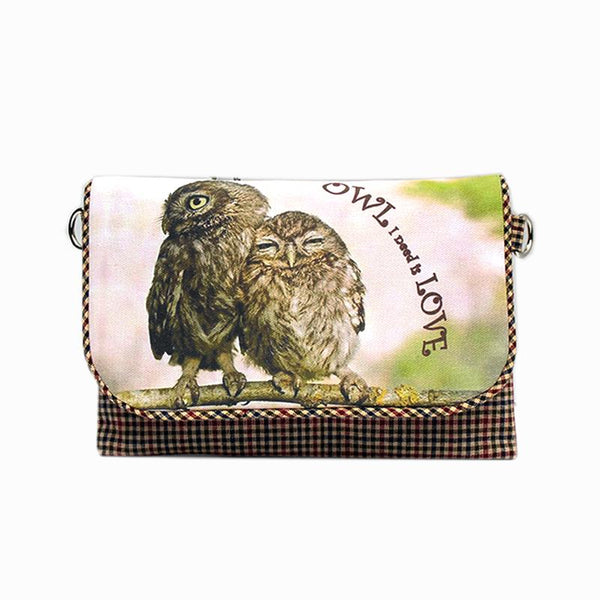 Owl-I-Need-Is-Love Cross-Body