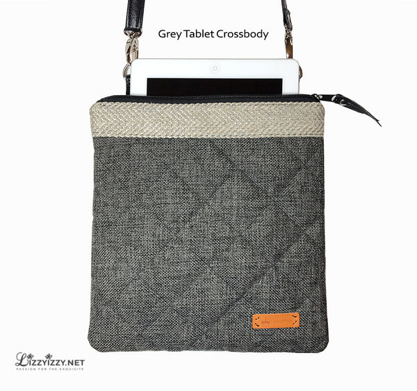 Tablet Crossbody Grey