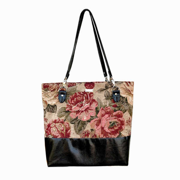 Rose Tapestry Tote Bag