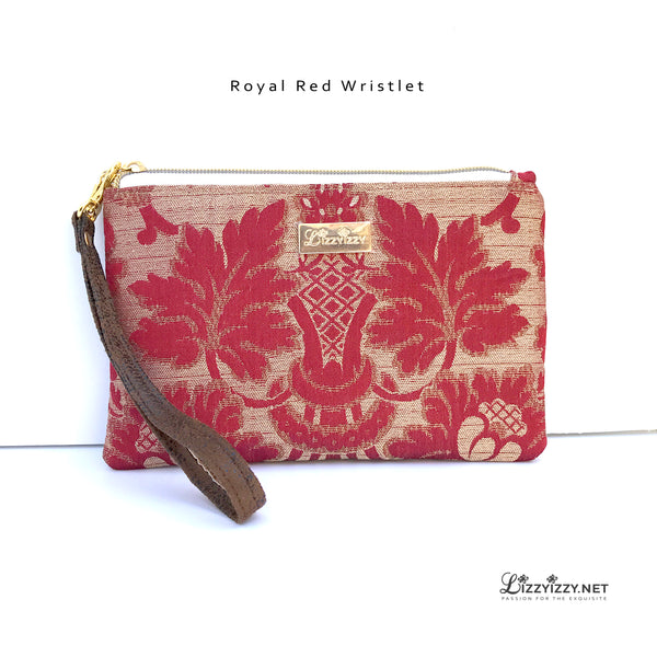Royal Red Cellphone Wristlet