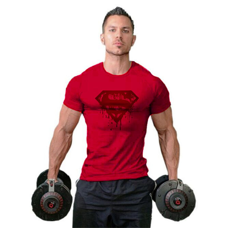 Quick Dry Men's Fitness Sports T-shirt