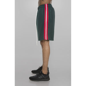 Gang Track Shorts (Green/Red/White)