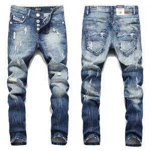 Men Jeans Dsel Brand Straight Fit
