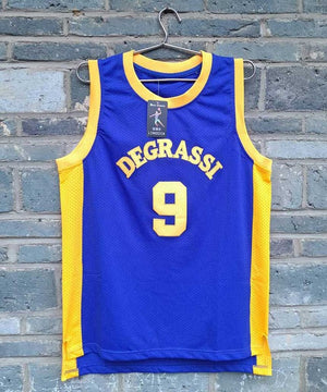 #9 Drake  Degrassi Basketball Jersey