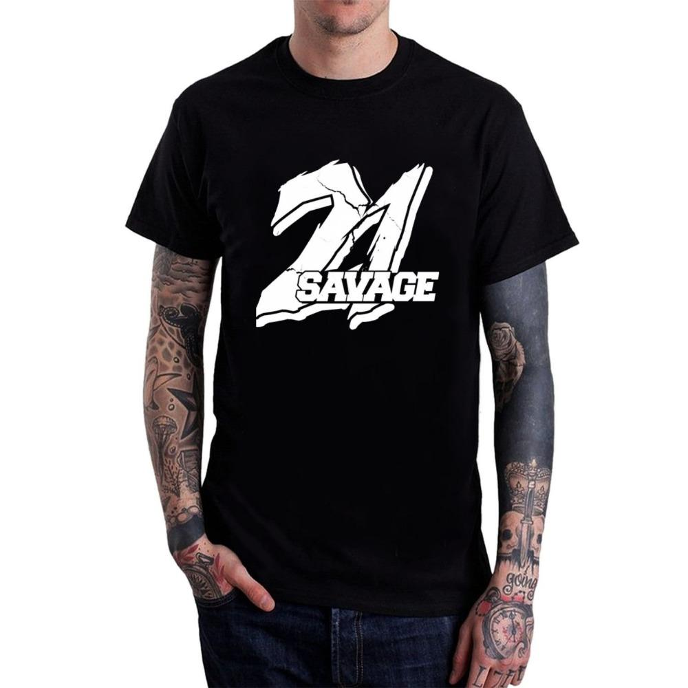 21 Savage Hip Hop Print Tee