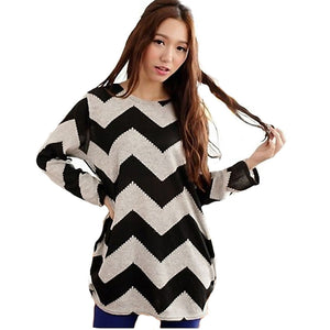 Casual Stripe Long Sleeve