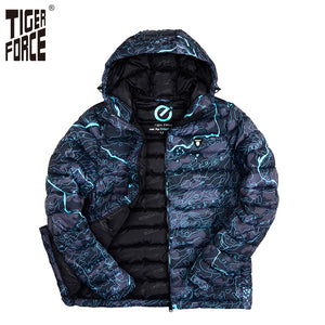 TIGER FORCE Winter Polyester Camouflage Coat