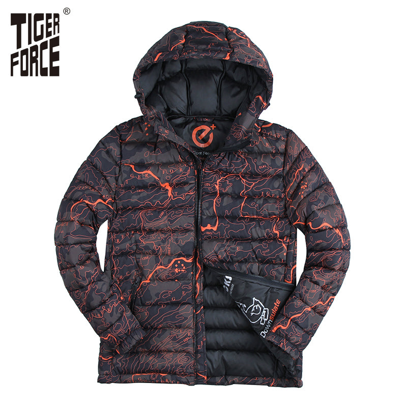 Tiger Force Cotton Padded Camouflage Jacket