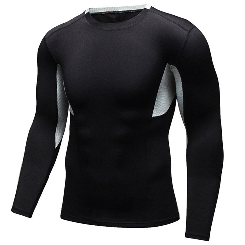 Long Sleeve shirts Slim Body Fit Fitness Tees Autumn Spring Compression Clothing T-Shirts Quick Dry Bodybuilding Sportwear