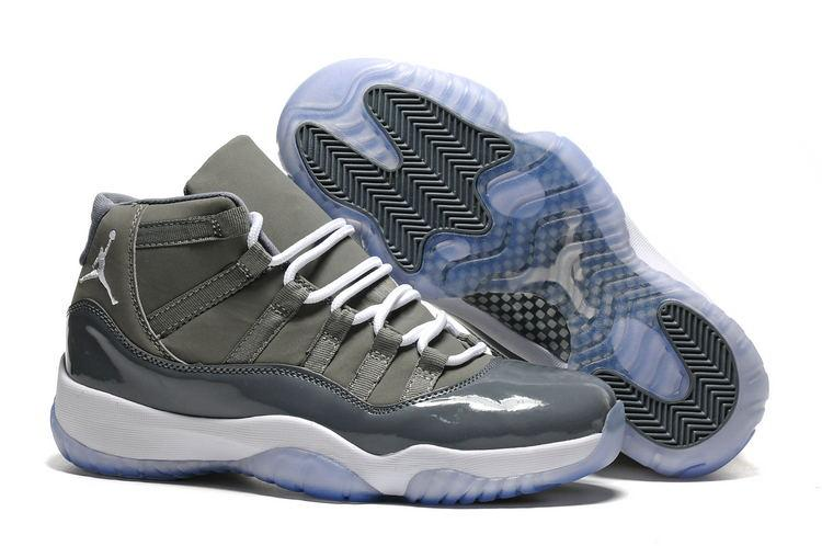 JORDAN Basketball Shoes Low help JORDAN Sneakers Gray Men Basketball Shoes Jordan 11