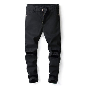Men Jeans Casual Pants