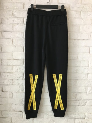 Mona Lisa Printed TEMPERATURE  Joggers