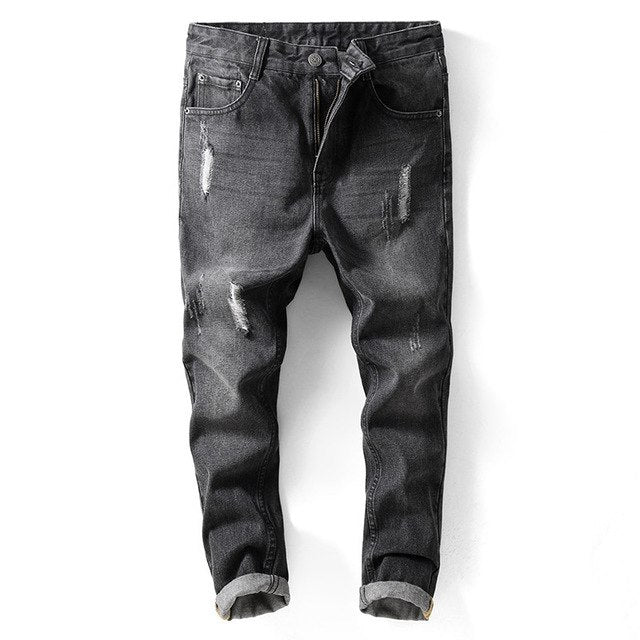 Men Jeans Runway Slim Racer Jeans
