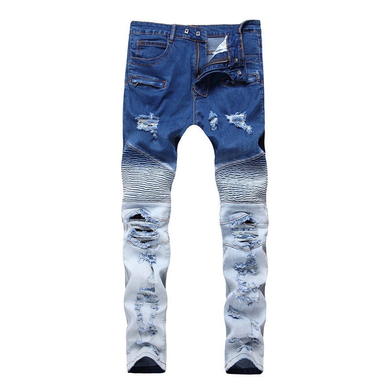 Men's Jeans Streetwear Men Slim Fit Denim