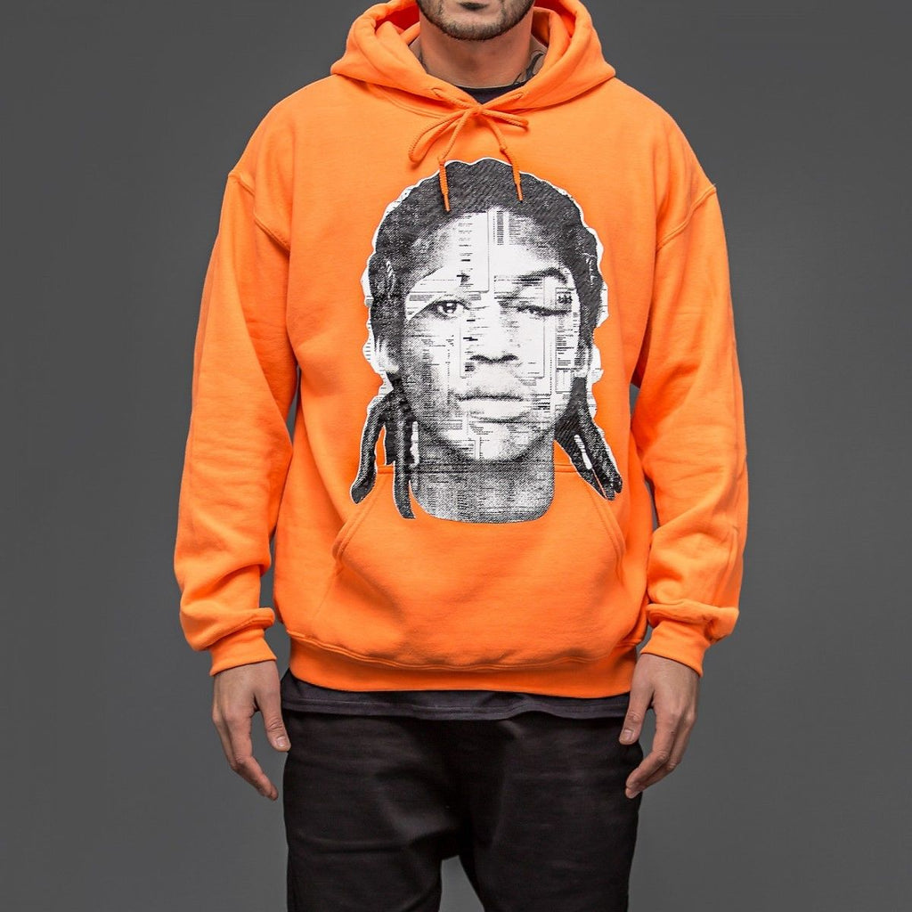 MEEK MILL DC4 orange hoodie Maybach Music Group MMG Dream chasers Hip Hop Merch