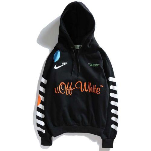 18SS 33 Off White Firework Arrows Pullover Galaxy Kapuzenpullover Fashion Hoodie