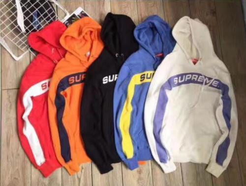 2017 Supreme Box Logo Pullover Hoodie