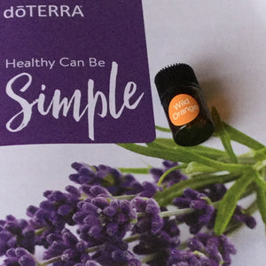Oil: 2ml Wild Orange dōTerra Essential Oil