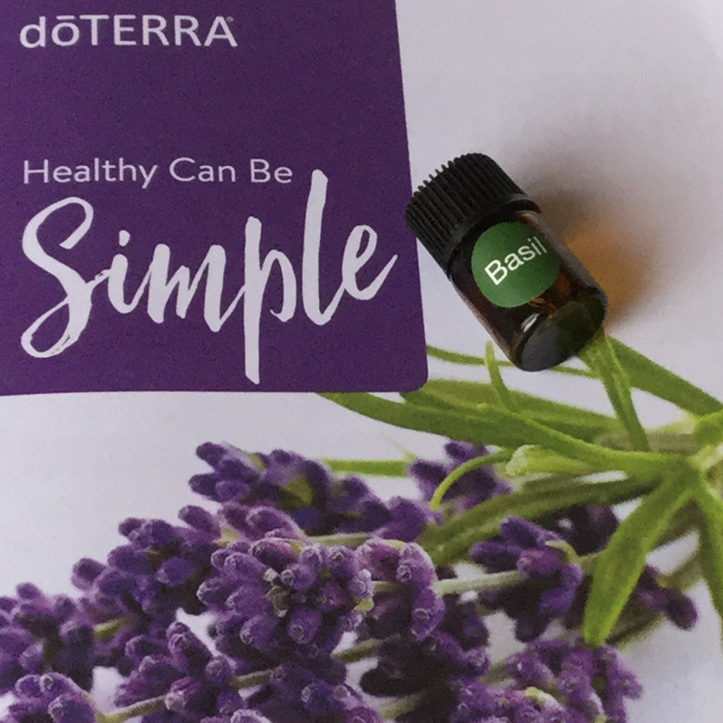 Oil: 2ml Basil dōTerra Essential Oil